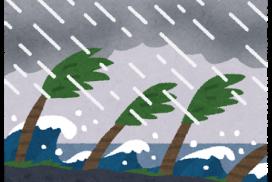 2年連続台風直撃
